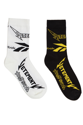 Vtmnts x Rbk Main Socks