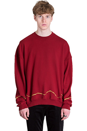 Oversized Embroidered Crewneck Sweatshits(남은 재고 클리어런스 세일 30%)