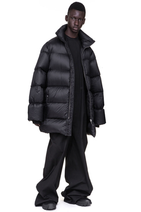 Oversized Turtleneck GooseDown Jacket