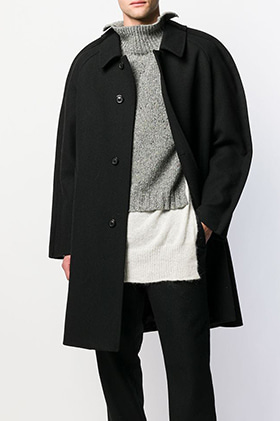MM Oversized Raglan Coat