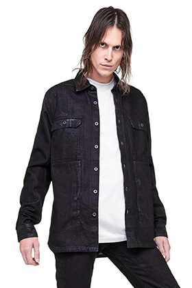DS Coated Denim Jacket