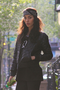 A.W*ng Quiltted Leather Jacket(CLEARANCE SALE 50% OFF)