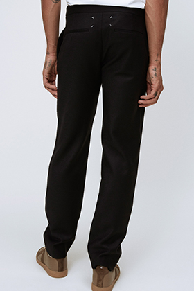 String Tailored Pants