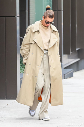 MM Oversized Trench Coat